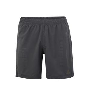 ADIDAS PERFORMANCE Sportovní kalhoty 'SUPERNOVA SHORT'  tmavě šedá
