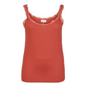 ONLY Carmakoma Top 'CARMILO'  oranžově červená