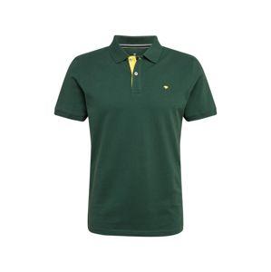 TOM TAILOR Tričko  tmavě zelená