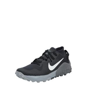 NIKE Sportovní boty 'Wildhorse 6'  černá / bílá