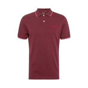 GAP Tričko 'FRANCH'  vínově červená