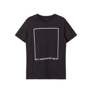 NAME IT Tričko  černá