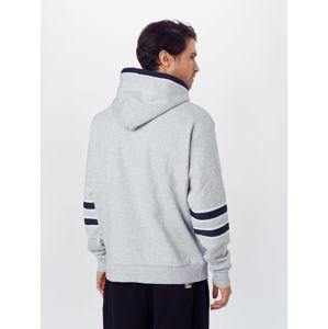 Karl Kani Mikina 'Signature Block'  bílá / světle šedá / námořnická modř