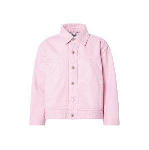 UNITED COLORS OF BENETTON Přechodná bunda  růžová