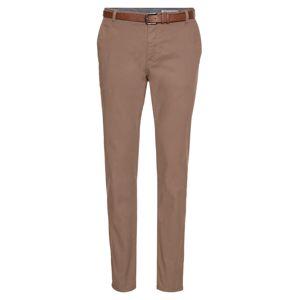 Review Chino kalhoty 'STR BELT'  béžová