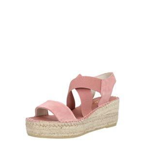 Vidorreta Páskové sandály 'SERRAJE'  růžová