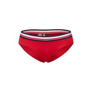 Tommy Hilfiger Underwear Spodní díl plavek 'HIPSTER LR'  červená