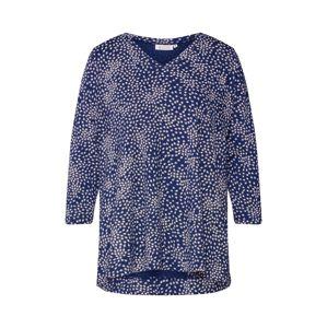 Masai Tričko 'Daina'  bílá / královská modrá