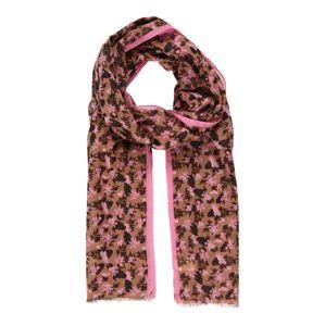 BeckSöndergaard Šátek 'Loon Cia'  zelená / pink / černá