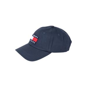 Tommy Jeans Kšiltovka 'HERITAGE'  námořnická modř / bílá / červená