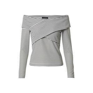 Trendyol Tričko  bílá / černá