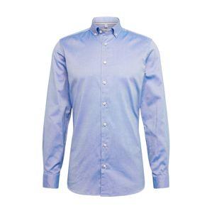 OLYMP Společenská košile 'Level 5 Smart Business Oxford'  námořnická modř