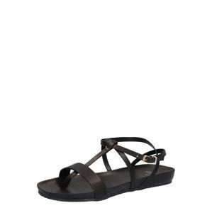 Fred De La BretoniÈre Páskové sandály  černá