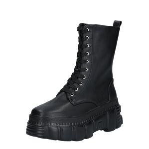 Public Desire Šněrovací boty 'Survivor'  černá