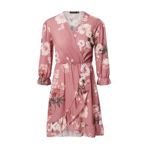Sublevel Košilové šaty  bílá / pink
