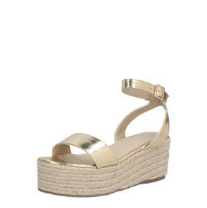 4th & Reckless Páskové sandály 'Eden'  zlatá