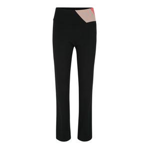 ESPRIT SPORTS Sportovní kalhoty 'Edry SL'  korálová / černá