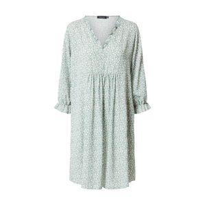 Sublevel Šaty  pastelově zelená / bílá / tělová