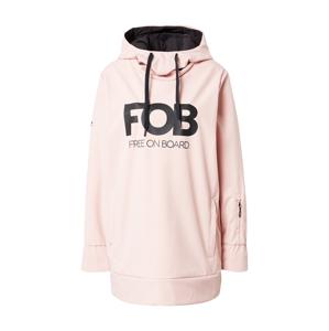 4F Sportovní bunda  růžová / černá