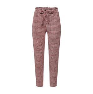 SISTERS POINT Kalhoty se sklady v pase 'CEN-PA1'  červená