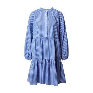 SECOND FEMALE Košilové šaty 'Miracle'  bílá / modrá