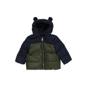 GAP Zimní bunda  tmavě zelená / tmavě modrá