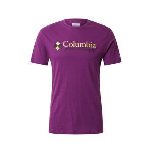 COLUMBIA Tričko  švestková