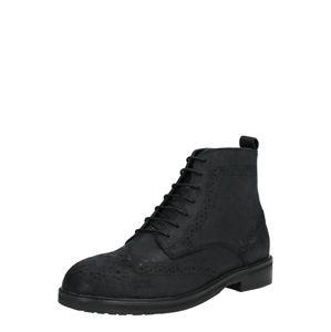 Hudson London Šněrovací boty 'ROWAN BROGUE BT'  černá