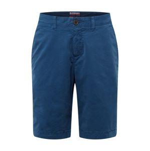 Superdry Chino kalhoty  námořnická modř
