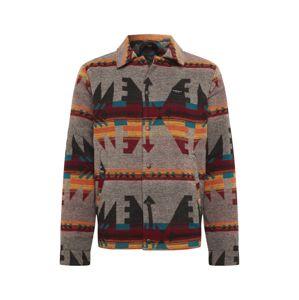 Iriedaily Přechodná bunda 'Santania Jacket'  šedý melír / mix barev