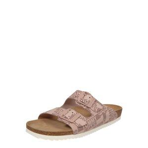 Tommy Jeans Pantofle 'JOAN'  béžová / růžová