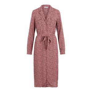 PIECES Šaty  růžová