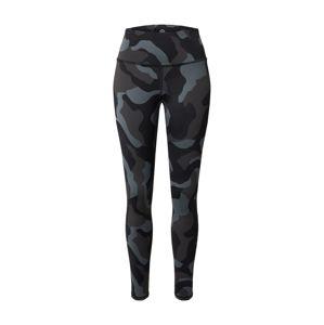 UNDER ARMOUR Sportovní kalhoty 'UA Rush'  černá / antracitová / šedá