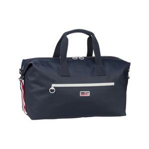 LACOSTE Cestovní taška  bílá / námořnická modř / červená
