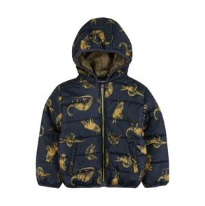 LEMON BERET Zimní bunda  námořnická modř / žlutá