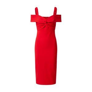Trendyol Koktejlové šaty  červená