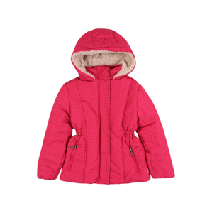 LEMON BERET Zimní bunda 'Small Girls'  pink / černá