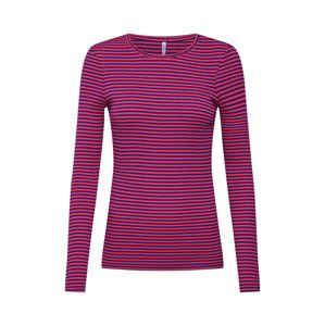 ONLY Tričko 'TINA'  námořnická modř / pink