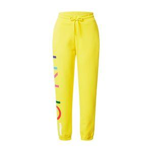 ESPRIT Kalhoty  žlutá / mix barev