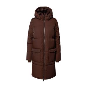 OBJECT Zimní kabát 'Zhanna'  tmavě hnědá