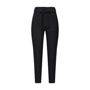ONLY Kalhoty se sklady v pase 'Florence'  bílá / černá