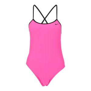 Nike Swim Sportovní plavky 'Solid'  pink / černá