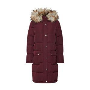 VILA Zimní kabát 'Vicalifornia'  vínově červená