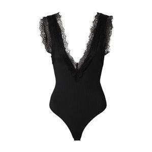 IVYREVEL Top 'LACE TRIM BODY'  černá