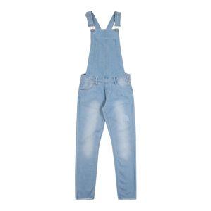 NAME IT Laclové kalhoty 'FROSE'  modrá džínovina