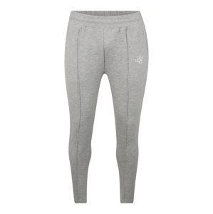 SikSilk Kalhoty 'Smart Pleated'  šedý melír