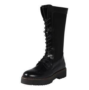 SCOTCH & SODA Šněrovací boty 'Olivine'  černá