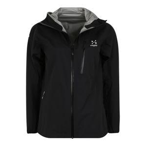 Haglöfs Outdoorová bunda  černá