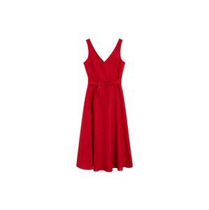 MANGO Šaty  červená
