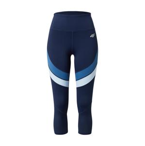 4F Sportovní kalhoty  námořnická modř / nebeská modř / bílá